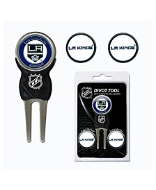 Team Golf Los Angeles Kings Divot Tool and Markers Set