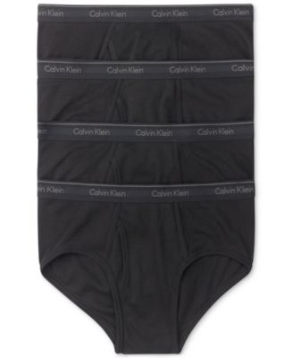 9d82c86a71f482 Calvin Klein Men's Classic Briefs 4-Pack U4000 & Reviews - Underwear &  Socks - Men - Macy's