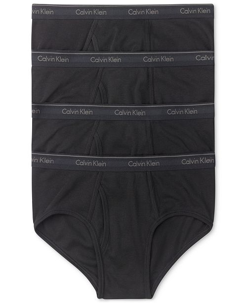 c9f6202d835230 Calvin Klein Men's Classic Briefs 4-Pack U4000 & Reviews - Underwear ...