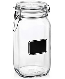 Fido Chalk Label Tall Jar, 50.75 oz.