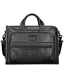 Tumi Alpha 2 Slim Deluxe Briefcase