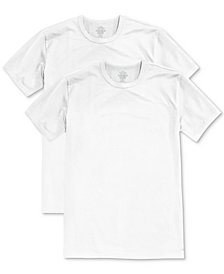 Calvin Klein Men's Big & Tall Cotton Classics Crew Neck 2-pack