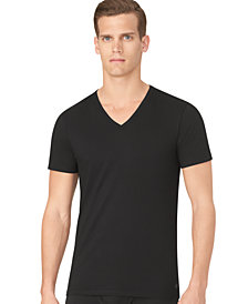 Calvin Klein Men's Slim-Fit V-Neck 3-pack