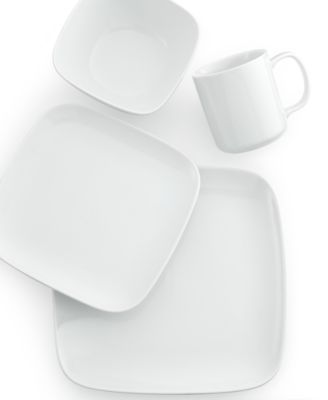 The Cellar Whiteware Soft Square Collection Created for Macy\u0027s - Dinnerware - Dining \u0026 Entertaining - Macy\u0027s  sc 1 st  Macy\u0027s & The Cellar Whiteware Soft Square Collection Created for Macy\u0027s ...
