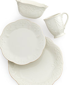Lenox Dinnerware, French Perle 4 Piece Place Setting