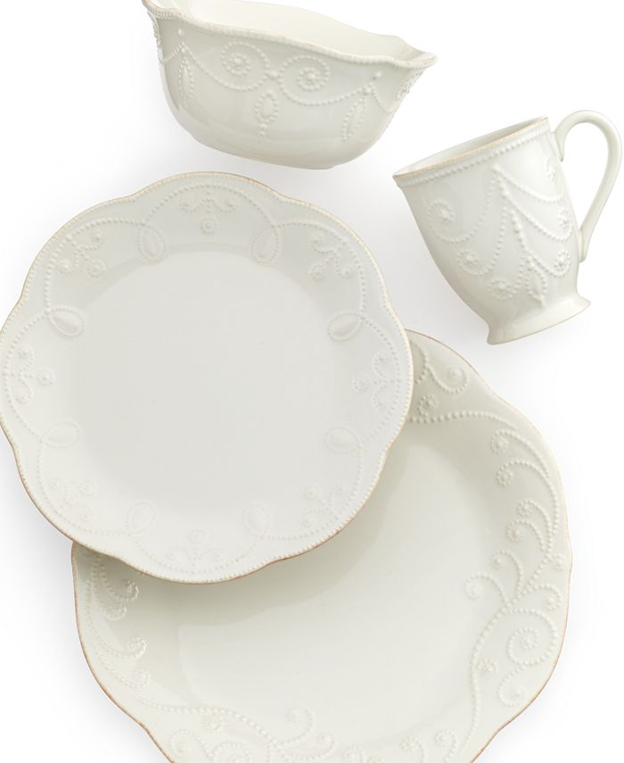 Lenox - French Perle White 4-Piece Place Setting
