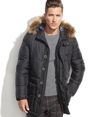 Tommy Hilfiger Hooded Faux-Fur-Trim Performance Parka - Coats ...