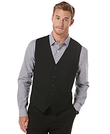 Perry Ellis Men's EDV Button Front Vest