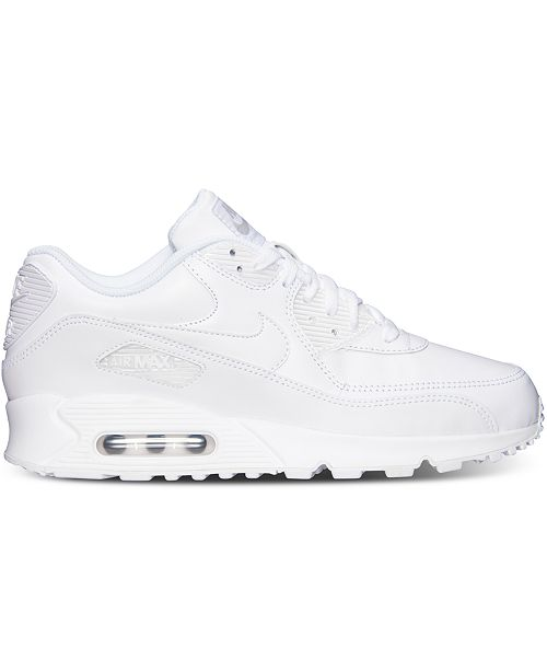 e4592690fdf1 ... Nike Men s Air Max 90 Leather Running Sneakers from Finish Line ...