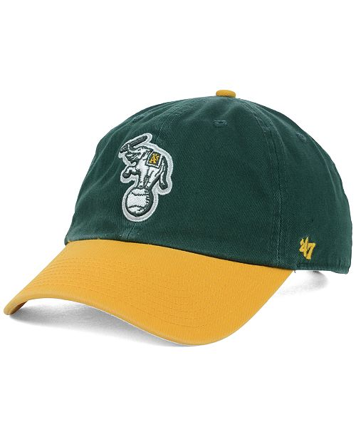 573b94562dde1  47 Brand Oakland Athletics Clean Up Cap   Reviews - Sports Fan ...