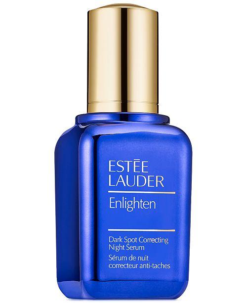 Estee Lauder Enlighten Dark Spot Correcting Night Serum, 1 oz