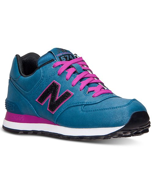 New Balance Women's 574 Precious Metals Casual Sneakers from Finish Line