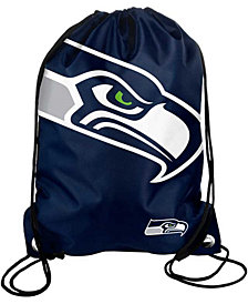 Forever Collectibles Seattle Seahawks Big Logo Drawstring Bag