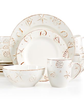 Thomson Pottery Hampton 16-Pc. Set, Service for 4 - Dinnerware ...