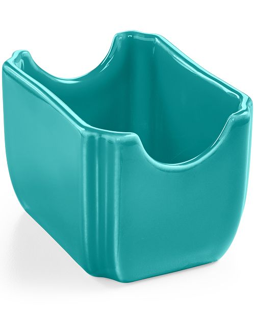 Fiesta Turquoise Sugar Packet Caddy