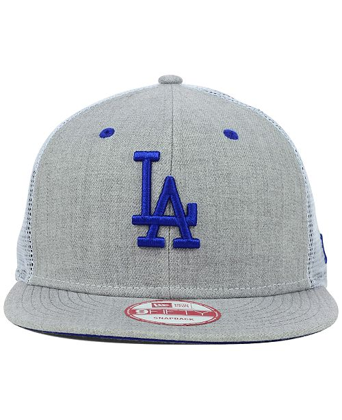 New Era Los Angeles Dodgers Heather Trucker 9FIFTY