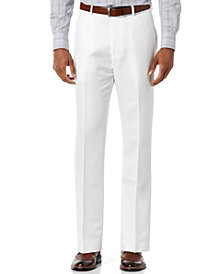 Perry Ellis Men's Big and Tall Linen Blend Pants