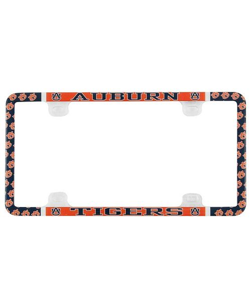Stockdale Auburn Tigers Thin Rim License Plate Frame