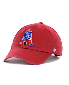 '47 Brand New England Patriots Clean Up Cap