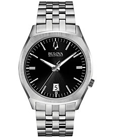 Bulova Accutron II Men's Surveyor Stainless Steel Bracelet Watch 41mm 96B214
