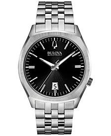 Bulova Accutron II Men's Surveyor Stainless Steel Bracelet Watch 41mm 96B214