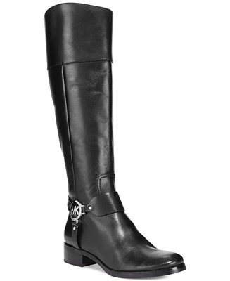 570d0e9ae4b3 Michael Kors Fulton Harness Tall Riding Boots   Reviews - Boots - Shoes -  Macy s