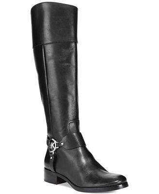 MICHAEL Michael Kors Fulton Harness Tall Riding Boots - Boots ...