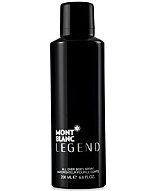 Montblanc Men's Legend Body Spray, 6.6 oz.