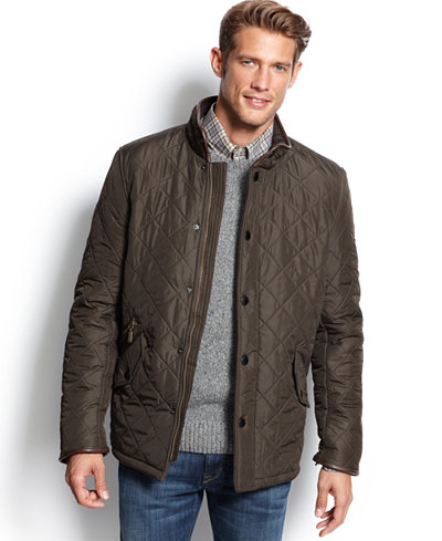 Barbour Powell Quilted Jacket Coats Amp Jackets Men Macy S