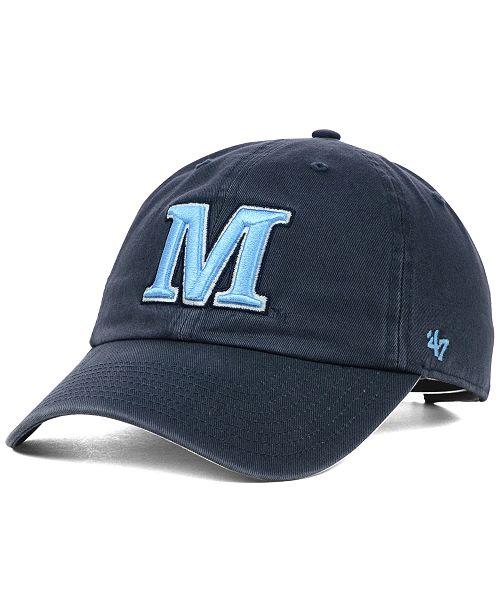 '47 Brand Maine Black Bears NCAA Clean-Up Cap