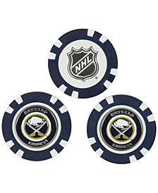 Team Golf Buffalo Sabres 3-Pack Poker Chip Golf Markers