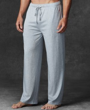 Men'S Ultra-Soft Pima Cotton Supreme Comfort Knit Pajama Pants in Andover Heather
