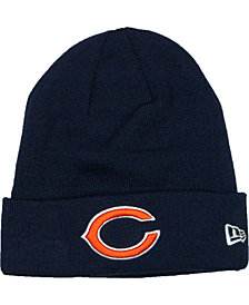 New Era Chicago Bears Basic Cuff Knit Hat