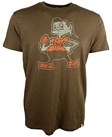 Men's Cleveland Browns Retro Logo Scrum T-Shirt