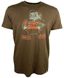 '47 Brand Men's Cleveland Browns Retro Logo Scrum T-Shirt