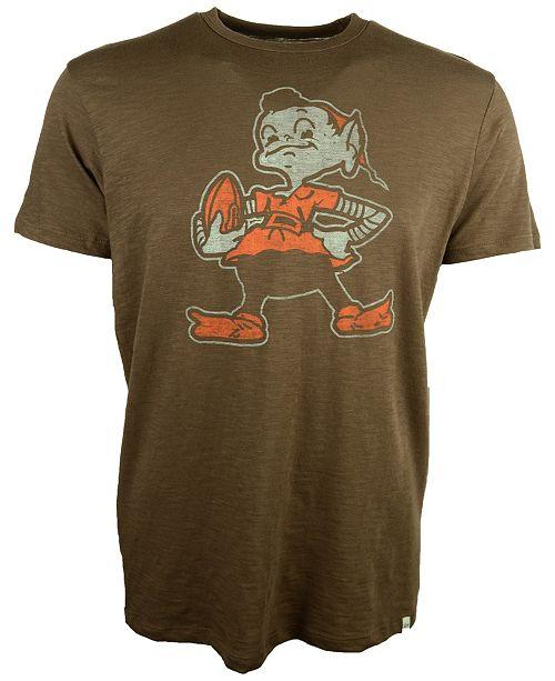 '47 Brand Men's Cleveland Browns Retro Logo Scrum T-Shirt