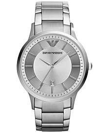 Emporio Armani Men's Stainless Steel Bracelet Watch 43mm AR2478