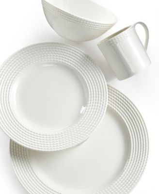 kate spade new york Dinnerware Wickford Dinnerware Collection  sc 1 st  Macy\u0027s & kate spade new york Dinnerware Set of 4 Wickford Dachshund Tidbit ...