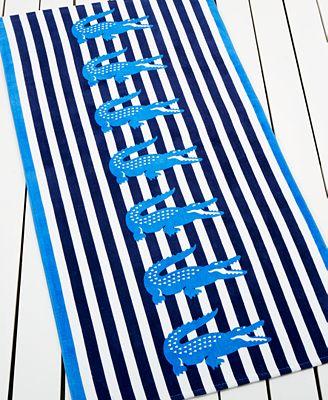 Lacoste Transat Beach Towel