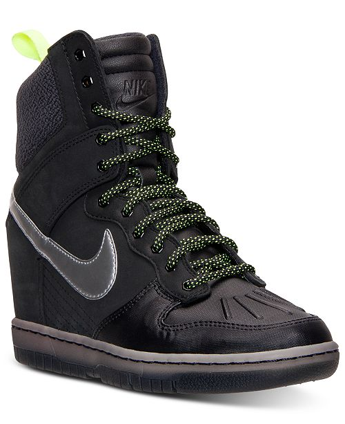 Nike Women s Dunk Sky Hi 2.0 Sneakerboot from Finish Line - Finish ... 8a114a9fe