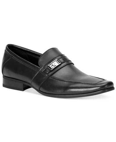 Calvin Klein Men's Bartley Bit Textured Loafers