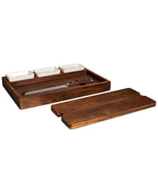 Heritage Collection by Fabio Viviani Acacia Wood Bruschetta Board