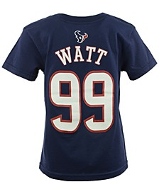 Toddler Boys' J.J. Watt Houston Texans Mainliner Player T-Shirt