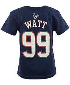 Outerstuff Toddler Boys' J.J. Watt Houston Texans Mainliner Player T-Shirt