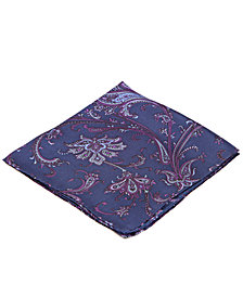 Ryan Seacrest Distinction Palm Paisley Pocket Square