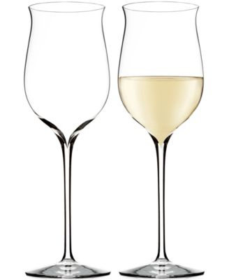 Elegance Riesling Wine Glass Pair