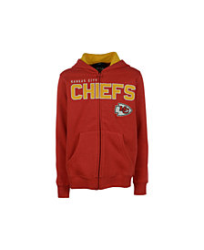 OuterstuffKansas City Chiefs Stated Full-Zip Hoodie