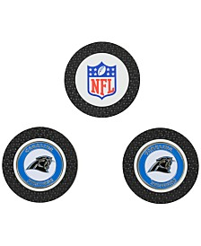 Team Golf Carolina Panthers 3-Pack Poker Chip Golf Markers