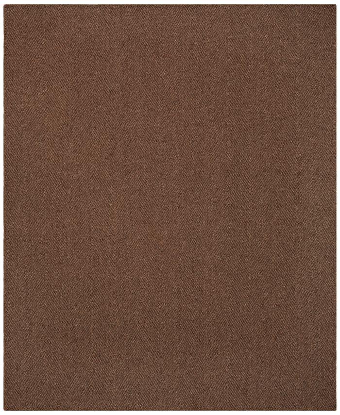 Macy's Fine Rug Gallery - Sandbar Herringbone 9' x 13' Area Rug