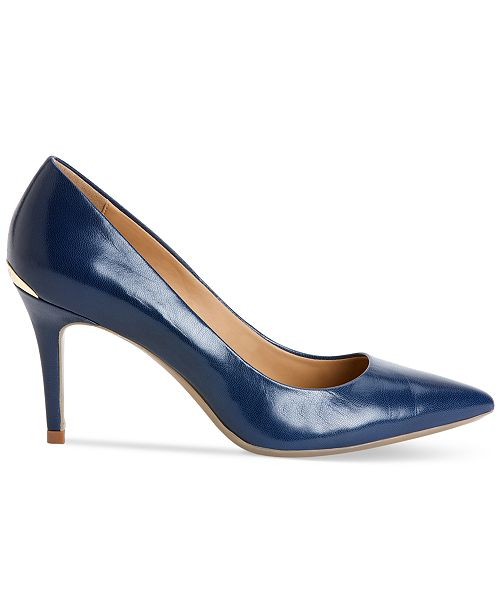 Calvin Klein Women's Gayle Pointed Toe Pumps & Reviews